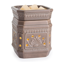Taupe Duo wax warmer