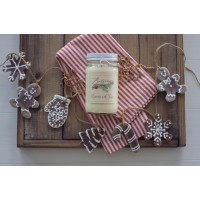 3 Holiday Candles Flat rate shipping